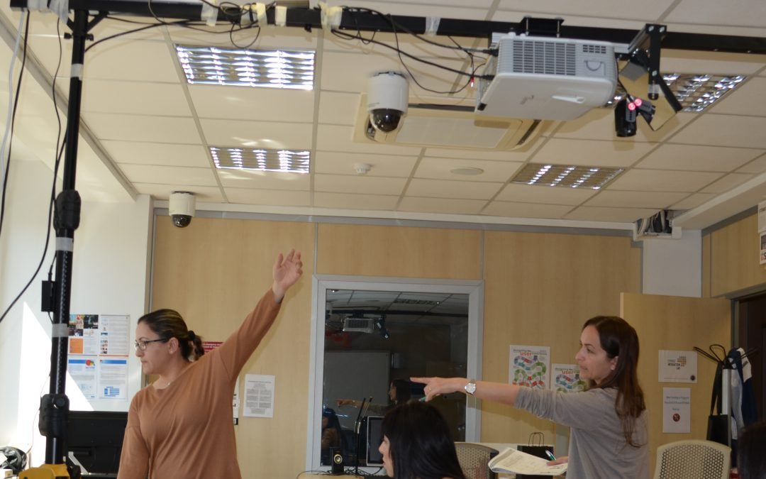 Co-designing embodied learning games with in-service teachers at the Cyprus Interaction Lab